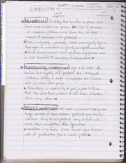 Notes on Oligopolies and Mission Statements