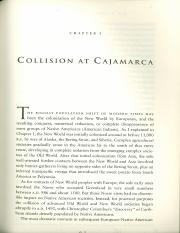 Collision at Cajamarca (Guns, Germs and Steel)