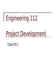 ENGR 112 Lecture 2