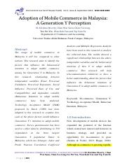 Adoption of Mobile Commerce in Malaysia,A generation Y perception.pdf