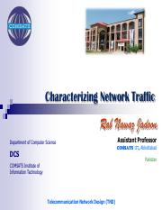 lecture-6-characterizing-network-traffic-by-rab-nawaz-jadoon