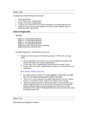 mgt 448 wk 1 globalization questionnaire View essay - mgt 448 week 1 globalization questionnaire paper from mgt 448 at university of phoenix mgt 448 week 1 globalization questionnaire paper a what is globalization, and what are some of.