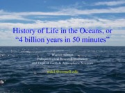 4_History of Life in the Oceans Allmon 2015.2