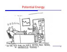 15 - Potential Energy