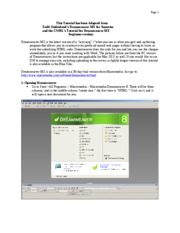 Dreamweaver_tutorial