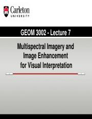 GEOM 3002_L7_2015_Imagery_Enhancement_Noise reduction
