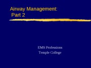 airway mgmt part 2
