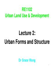 RE1102 Lecture 2