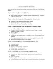 Study Guide_Midterm 1