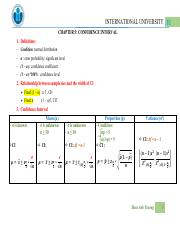 [CHART] - chapter 6 - confidence intervals.pdf