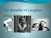 The Benefits of Laughter