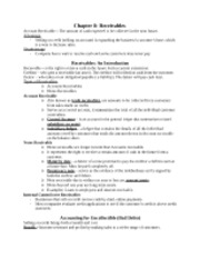 ACTG -  CH 8 Notes