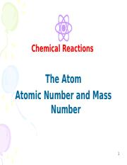 Lesson 1 - Atoms and Isotopes.ppt