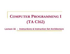 Lect16_Instructions_and_instruction_set_architecture