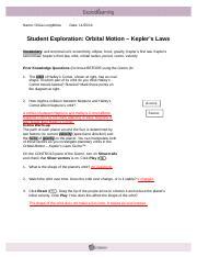 15.4 OrbitalMotionSE-2 - Name Reagan Rutledge Date Student ...