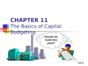 Zhang_Student_Chapter 11_the Basics of Capital Budgeting