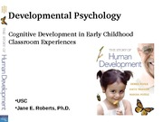Early Child Cognitive & Preschool