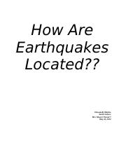 earthquakes.docx