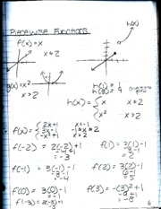 Precalculus Math Notes