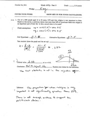 Test 3 - Solutions