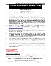 General Principles of Malaysian Law Assignment Question (December 2016 Exam Series).pdf