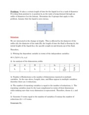 Example Solutions Homework 11