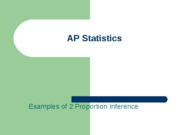AP Statistics 2 Proportion Inference Examples