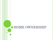 FCS 226 Chapter 12 Home Ownership