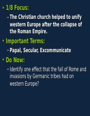 Middle Ages- Church .ppt