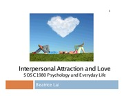 Lecture+9-12++Interpersonal+Attraction+and+Love_1slide