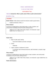 B-SEPT 5 - PUBLIC ADMINISTRATION-Lecture Notes