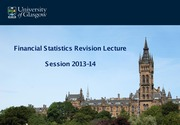 Revision Lecture 2014