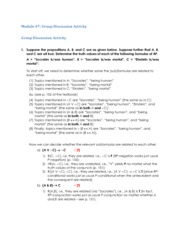 Phil 120 Discussion Activity 7 Answer Key