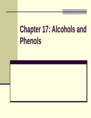 17  Alcohols,& Phenols.ppt