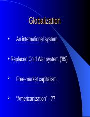 Globalization Ch 1.ppt