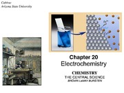 Brown LeMay Chapter 20 Electrochemistry BbVF