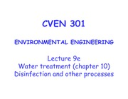 9e_CVEN 301_ Lecture 9e_Water trtmt_disinfection