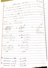 odd and even function notes
