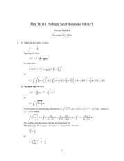 MATH111-200630-PS08-Solutions