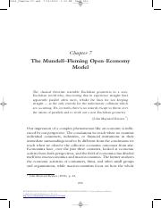 INTERNATIONAL FINANCE AND OPEN-ECONOMY MACROECONOMICS - Theory, History, and Policy (1)