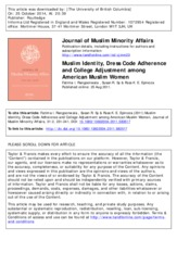 Muslim Identity, Dress Code and College Adjustment .pdf
