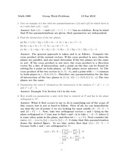 MATH 1910 Fall 2012 Tutorial 2 Solutions