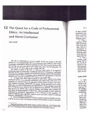 Ladd - The Quest for a Professional Code of Ethics.pdf