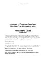 Case analysis flexcon