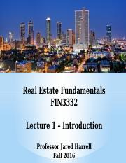 FIN3332-Lecture 1-Introduction-F16 - BB.pptx