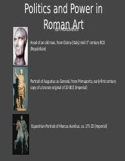 02.29 - Politics and Power in Roman Art
