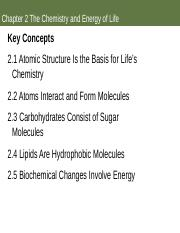 Ch 2 The Chemistry and Energy of Life Notes (1).ppt