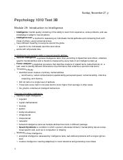 PSYCH 1010 Test 3B Notes (Module 29-31, 32-37).docx