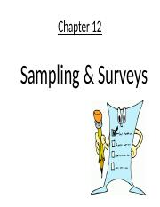 Chapter12 - Sampling (2).ppt