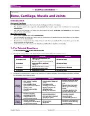 4-Bone, Cartilage, Joints and Muscles Answers.pdf